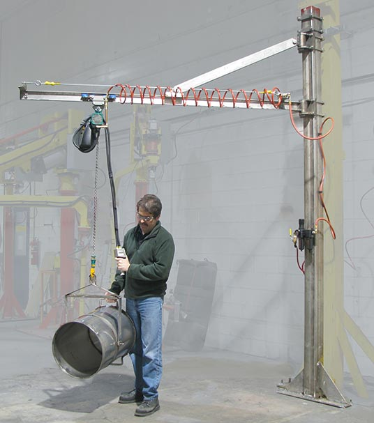 Specialized Cranes and Lifting Equipment for Food Processing and Pharmaceutical Production