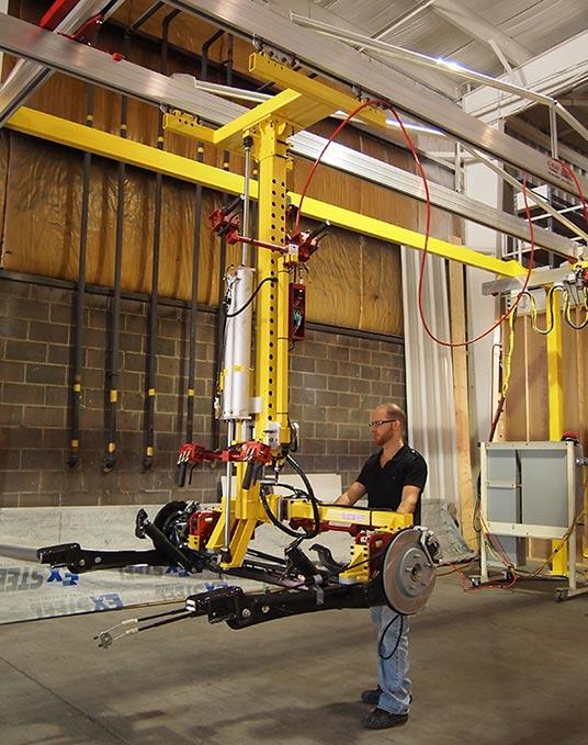 Manipulators For Lifting : Slide column manipulators light industrial cranes