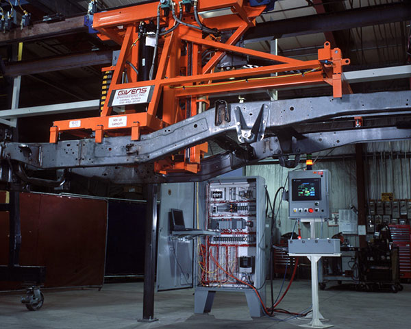 Automated Chassis Transfer System by Givens Engineering Inc.