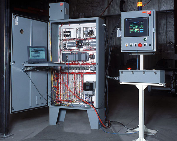 PLC Control Panel by Givens Engineering Inc.