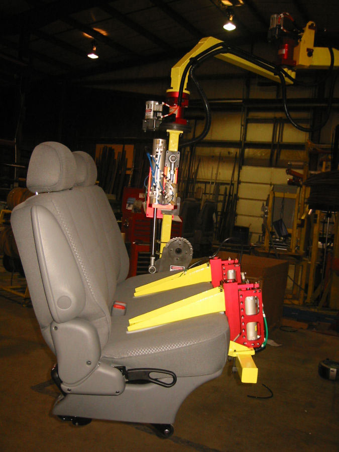 Bench Seat Lift Assist by Givens Engineering Inc.