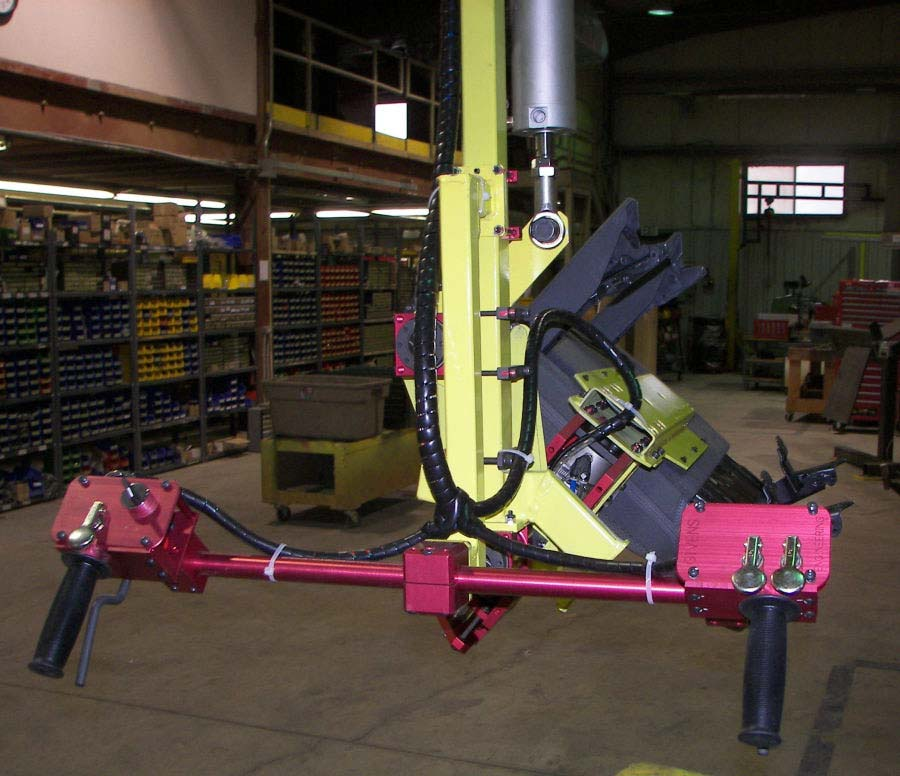 Passenger Seat Lift Assist by Givens Engineering Inc.