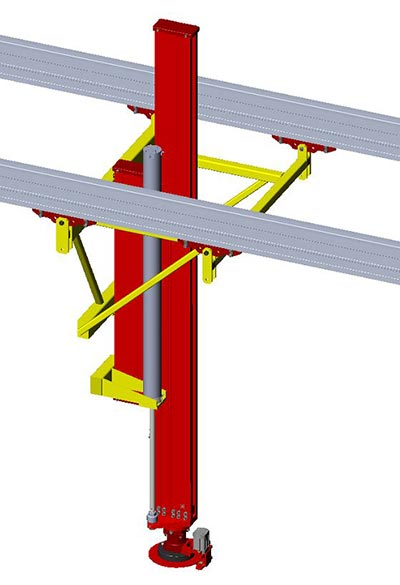 C250 sliding column by Givens Engineering Inc.