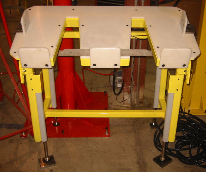 custom automotive seat assembly bench by Givens Engineering Inc.