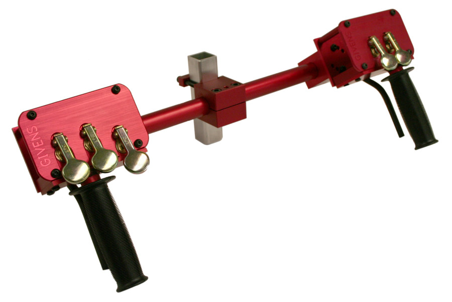 STD-H Pneumatic Handlebar Assembly by Givens Engineering Inc.