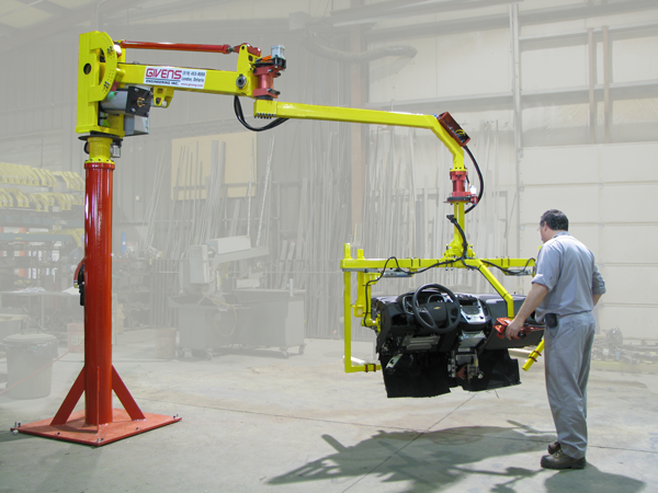 Industrial Manipulators for Automotive Manufacturing from Givens Engineering