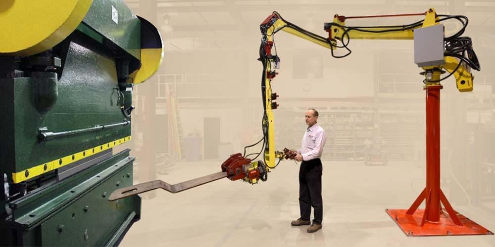 Brake Press Manipulator by Givens Engineering Inc.