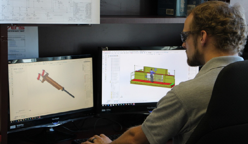 We have a large and experienced design department, consisting of technologists and engineers, continuously creating in 3D.