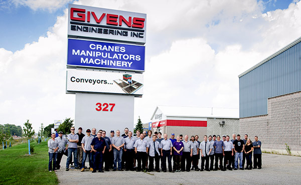 The Givens Engineering team