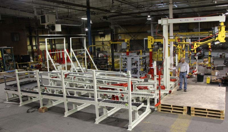 Gravity Conveyors by Givens Engineering Inc.