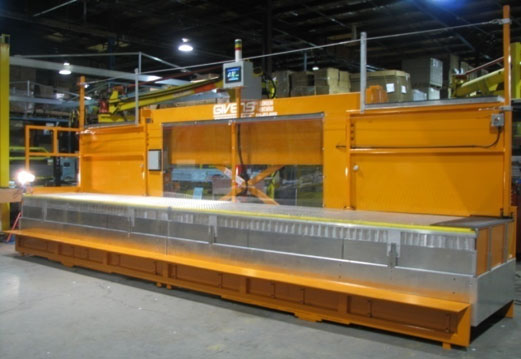 PLC-controlled electric lift platform for auto workers