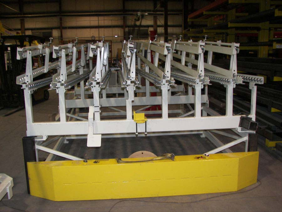 conveyor lineside flowrack by Givens Engineering Inc.