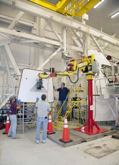 M120 manipulator at NASA at Kennedy Space Center