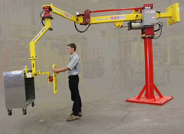 M120 manipulator with a very long reach by Givens Engineering Inc.