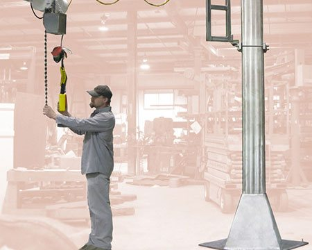 Stainless Steel Jib Cranes
