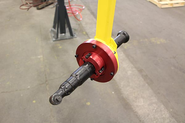 Toolholder by Givens Engineering Inc. manufactured in Canada.